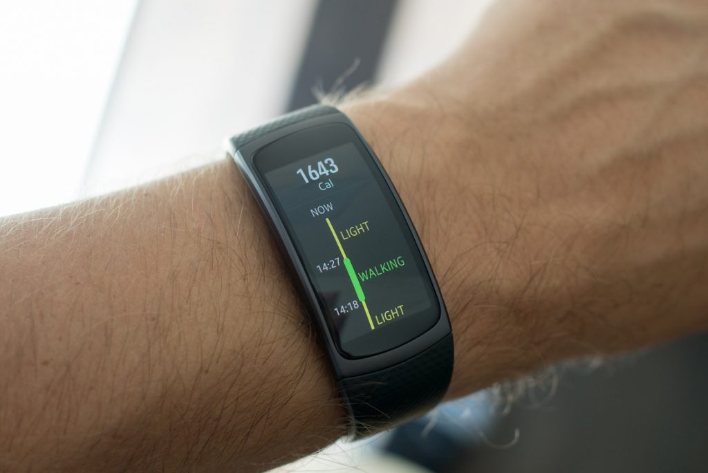 Samsung Gear Fit2 test intensif et avis