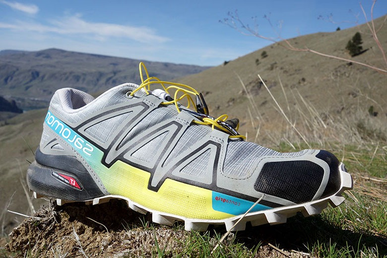 Chaussure de trail salomon speed 4