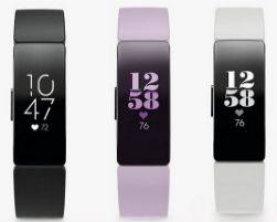 fitbit comparatif inspirent hr